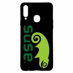 Чехол для Samsung A20s Linux Suse