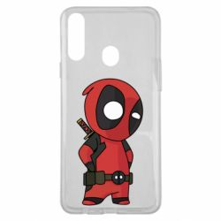 Чохол для Samsung A20s Little Deadpool