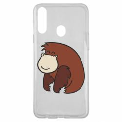 Чехол для Samsung A20s Little monkey