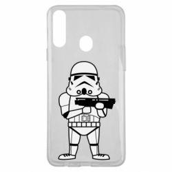 Чохол для Samsung A20s Little Stormtrooper