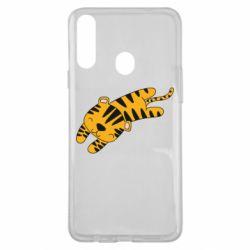 Чехол для Samsung A20s Little striped tiger