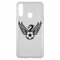Чохол для Samsung A20s Liverpool and soccer ball