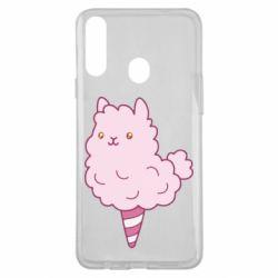 Чехол для Samsung A20s Llama Ice Cream