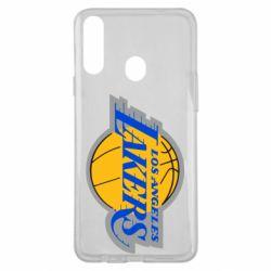 Чехол для Samsung A20s Los Angeles Lakers