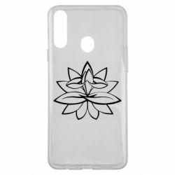 Чохол для Samsung A20s Lotus yoga