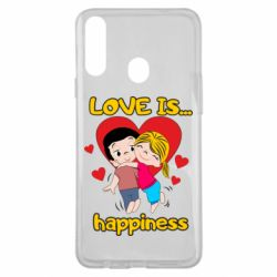 Чохол для Samsung A20s love is...happyness