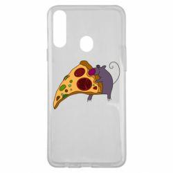 Чехол для Samsung A20s Love Pizza 2