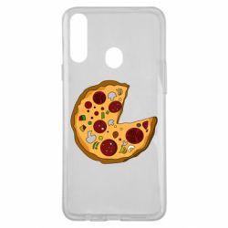 Чохол для Samsung A20s Love Pizza