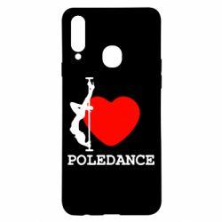 Чохол для Samsung A20s Love Pole Dance