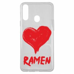 Чохол для Samsung A20s Love ramen