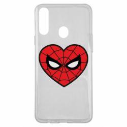 Чохол для Samsung A20s Love spider man