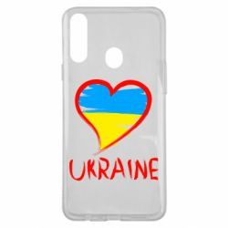 Чохол для Samsung A20s Love Ukraine