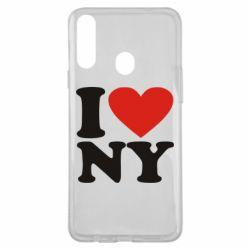 Чохол для Samsung A20s Люблю Нью Йорк