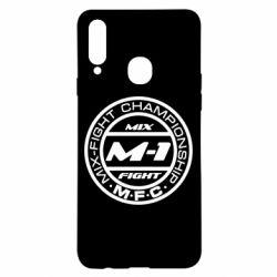 Чехол для Samsung A20s M-1 Logo