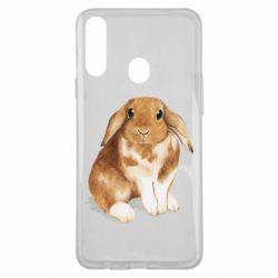 Чохол для Samsung A20s Маленький кролик