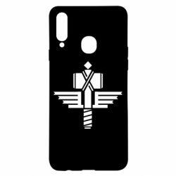 Чохол для Samsung A20s Manowar Logo
