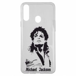 Чехол для Samsung A20s Майкл Джексон