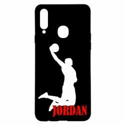 Чохол для Samsung A20s Майкл Джордан