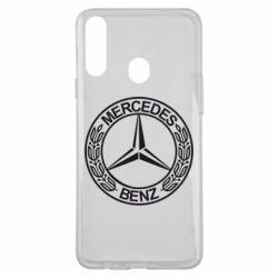Чохол для Samsung A20s Mercedes Логотип