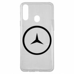 Чехол для Samsung A20s Mercedes new logo