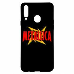 Чохол для Samsung A20s Логотип Metallica
