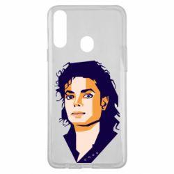 Чохол для Samsung A20s Michael Jackson Graphics Cubism