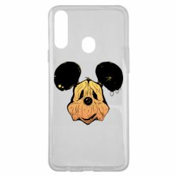 Чехол для Samsung A20s Mickey mouse is old