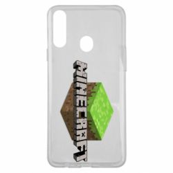 Чехол для Samsung A20s Minecraft Land