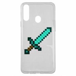 Чохол для Samsung A20s Minecraft меч