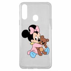 Чохол для Samsung A20s Minnie And Bear