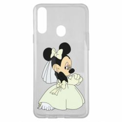 Чехол для Samsung A20s Minnie Mouse Bride