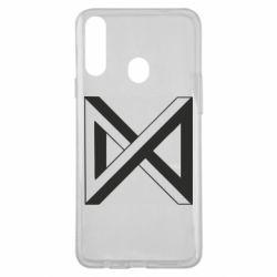 Чохол для Samsung A20s Monsta x simbol