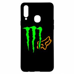 Чохол для Samsung A20s Monster Energy FoX