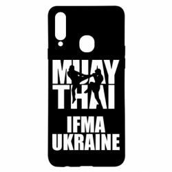 Чехол для Samsung A20s Muay Thai IFMA Ukraine