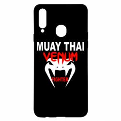Чехол для Samsung A20s Muay Thai Venum Fighter