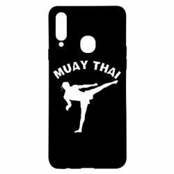 Чохол для Samsung A20s Muay Thai
