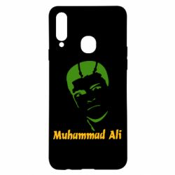 Чехол для Samsung A20s Muhammad Ali