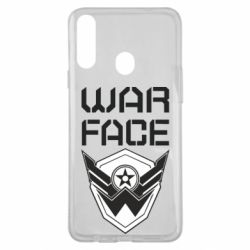 Чохол для Samsung A20s Напис Warface