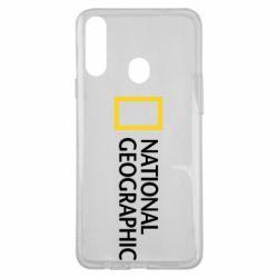 Чехол для Samsung A20s National Geographic logo