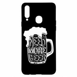 Чохол для Samsung A20s Need more beer
