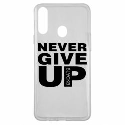 Чехол для Samsung A20s Never give up 1