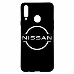 Чохол для Samsung A20s Nissan new logo