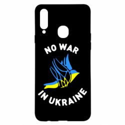 Чехол для Samsung A20s No war in Ukraine
