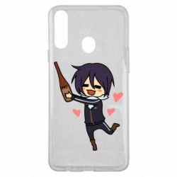 Чохол для Samsung A20s Noragami and drink