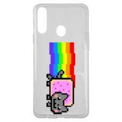 Чохол для Samsung A20s Nyan cat