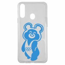 Чохол для Samsung A20s Олімпійський Ведмедик
