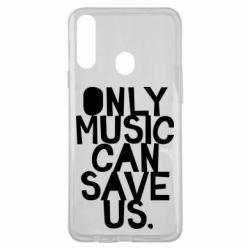 Чехол для Samsung A20s Only music can save us.