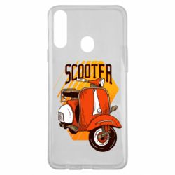 Чохол для Samsung A20s Orange scooter