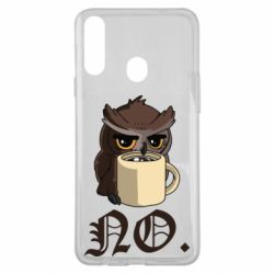 Чехол для Samsung A20s Owl and coffee