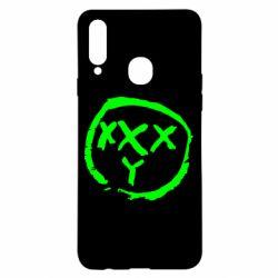 Чехол для Samsung A20s Oxxxy